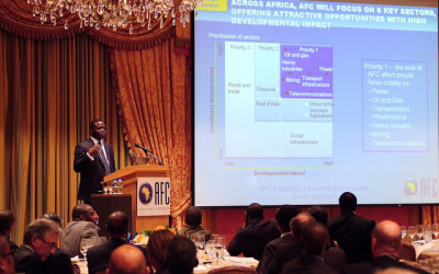 Africa Finance Corporation Investment Seminar Four Seasons Washington DC