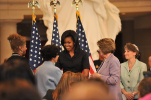 Michelle Obama, white house, sojourner truth unveiling dc