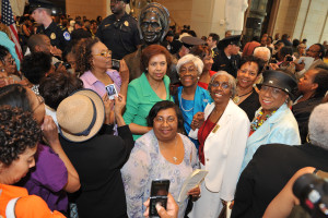 Sojourner Truth Unveiling Washington DC, Michelle Obama Sojourner Truth, White House pubic Relations, Nancy Pelosi Sojourner Truth, NCBW Sohourner Truth, C. Delores Tucker