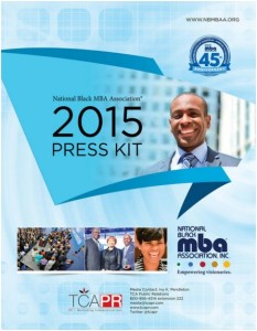 NBMBAA Press Kit 2015, Washington DC Public Relations
